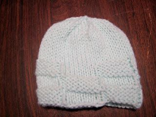 Basket Weave Baby Hat | Wanderlust