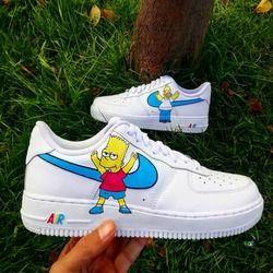 Zapatillas Blancas Nike Air Force One 1 Para Hombre Mujer