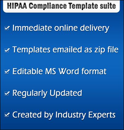 Hipaa Forms For Hipaa Privacy Policies And Procedure Are Updated