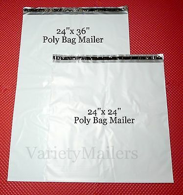 Ad Ebay 15 Large Poly Mailer Combo 10 24x24 5 24x36 2 5 Mil Quality Envelope Bags Poly Envelopes Shipping Envelopes Poly Mailers