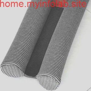 ドア 下部テープ 隙間風防止 防音 防虫 防埃 冷暖房効果アップ グレー ブラック