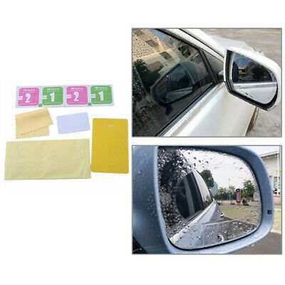 Sponsored Link 2pcs Set Car Mirror Film Rainproof Oil Resistant