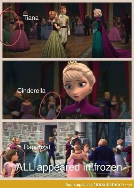 I love how Disney does this