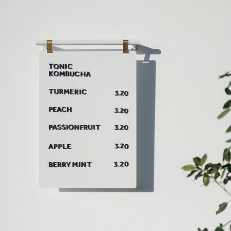 Wayfinding Signage, Signage Design, Branding Design, Bakers Menu, Menu Board Design, Menu Design, Cafe Menu Boards, Coffee Shop Signs, Coffee Shops