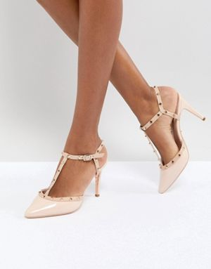 Dune London Catelyn Leather Studded