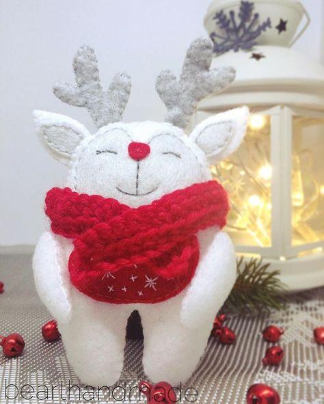 feltcraft Hello Rudolph #rekodzielo...