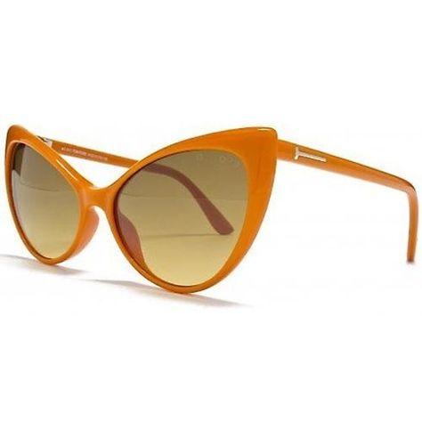 404baf4bed Tom Ford Women s Anastasia Cat-Eye Sunglasses ORANGE  TomFord   DesignerCatEye