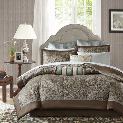 Alcott Hill Pereira Comforter Set Size Cal King Comforter 12