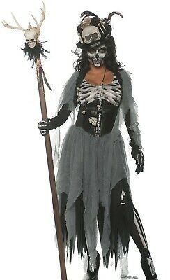 Fun Costumes Adult Voodoo Skeleton Skull Staff Accessory Standard