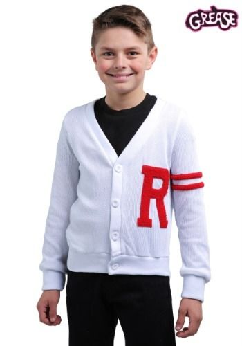 9270ad5e5 Boys Grease Rydell High Letterman Costume Sweater#Rydell, #Grease ...