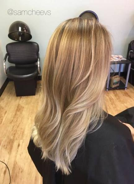 Trendy Hair Color Light Blonde Balayage 24 Ideas Hair Light