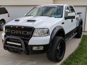 Accesorios Para Trocas Ford F150 >> 2005 Ford F150 Lariat Super Crew 4wd Toyo Open Country A T