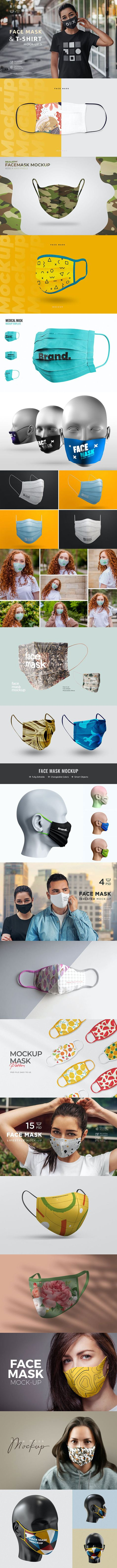 20 Helpful PSD Face Mockup Templates