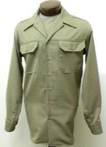 Shirt, Wool, OD, EM, CC