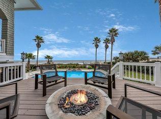 Fire Pit Deck Overlooking Water Ocean View Beach House Florida Home Design Backyard Goals Ponte Vedra Blvd Ocean Views Beach Ponte Vedra Beach Florida Home