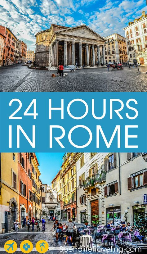 What to do in Rome in one day? I lived in Rome and fell in love with the city. This is my practical itinerary for the perfect short visit to Rome, Italy.
