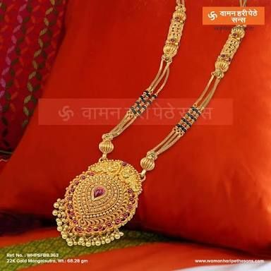 Image Result For Mangalsutra Design Of Waman Hari Pethe