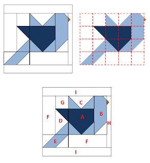 Quilt Square Patterns, Paper Pieced Quilt Patterns, Barn Quilt Patterns, Applique Quilts, Square Quilt, Mini Quilts, Small Quilts, Patch Quilt, Quilting Tutorials