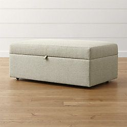 Wondrous Lounge Ii Deep Storage Ottoman In 2019 Upholstery Ncnpc Chair Design For Home Ncnpcorg