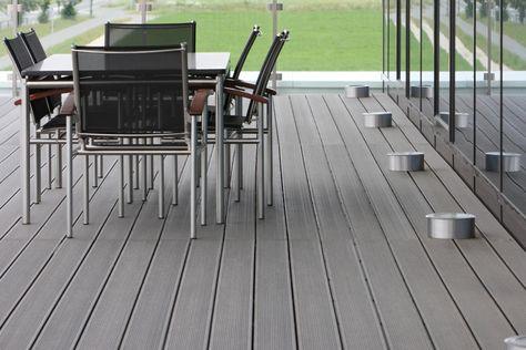 balcony flooring waterproof Inexpensive Outdoor Composite Flooring Waterproof Outside