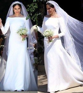 Vestido De Noiva Meghan Markle שמלות כלה Bridesmaid