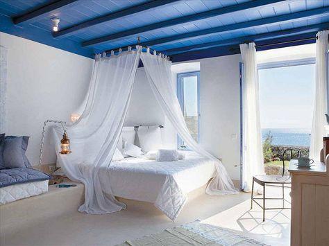 mykonos grece room | home en 2019 | Deco bureau, Maison ...