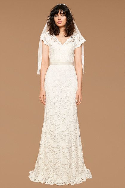Vintage Style Lace Wedding Dress Ashley By Zetterberg Available At