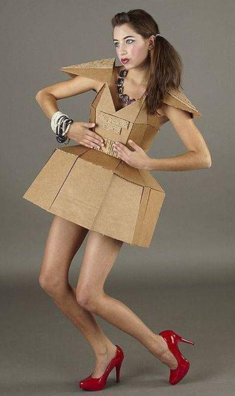 30+ Paper Dress Fashion You've Never Seen Before - Feminine Buzz