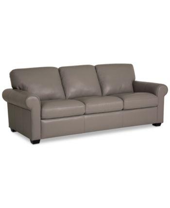 Incredible Martha Stewart Collection Bradyn Leather Sofa Collection Machost Co Dining Chair Design Ideas Machostcouk