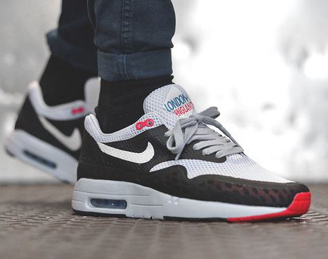 Nike Air Max 1 London England | Air max 1, Air max, Nike air max