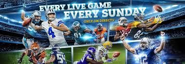 Every Live Game Every Sunday Get Nfl Sunday Ticket At No Extra
