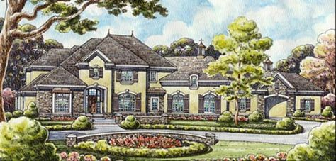 Are you looking for Luxury house plans? Then we have an impressive collection of plans over 3500 square feet which can surely gain your appreciation.