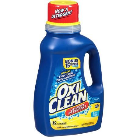 Oxiclean 45oz Laundry Detergent Only 2 97 At Walmart After