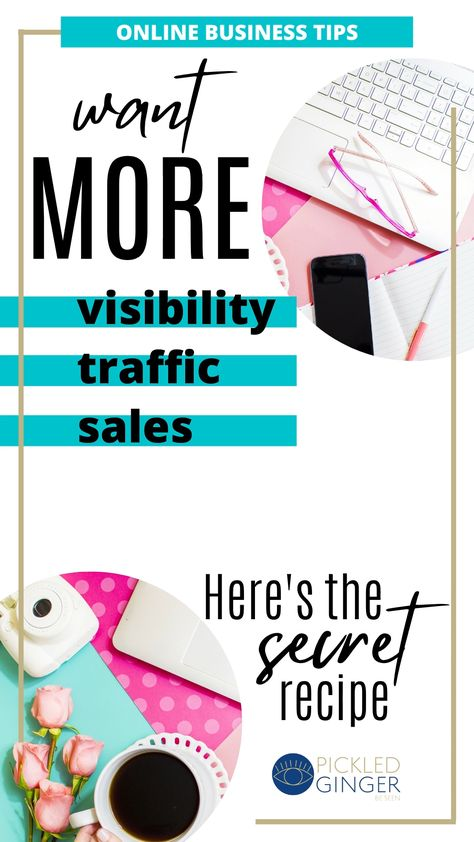 Content Marketing Strategy To Get More Traffic And Sales. Online Business Tips.