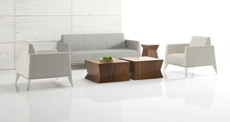 Craft, comfort and modern elegance, the Vertex collection offers impeccably tailored seating suited to both a formal and informal context where people connect and converse.