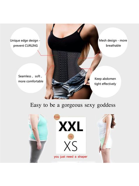 0804719d4c0 SAYFUT Women Breathable Cincher Underbust Corset Body Shaper Ultra Firm  Control Shapewear Tummy Slimmer Waist Trainer Nipper Girdle Body