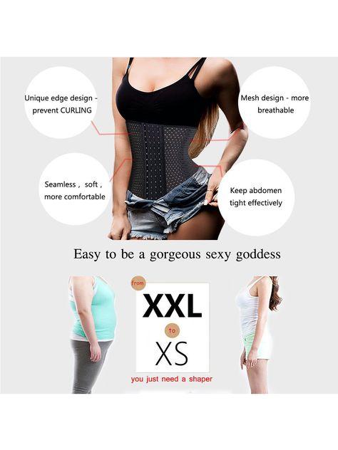 a49274cf68 SAYFUT Women Breathable Cincher Underbust Corset Body Shaper Ultra Firm  Control Shapewear Tummy Slimmer Waist Trainer Nipper Girdle Body