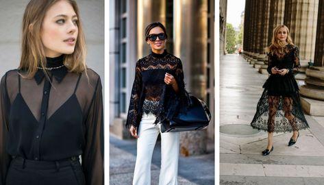 4 модных трюка, как носить прозрачные вещи