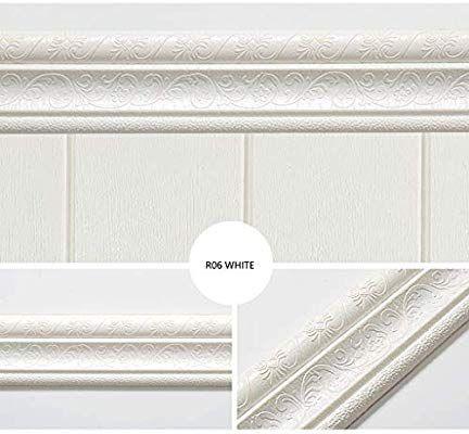 Yamy 3d Self Adhesive Wallpaper Border Waterproof Foam Wallpaper