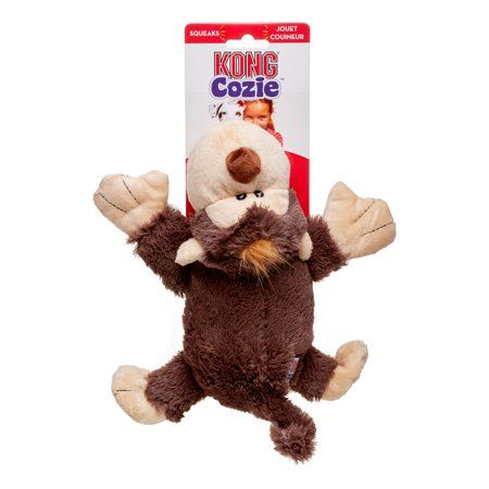 Kong Cozie Spunky The Monkey Dog Toy Small Dog Toys Your Pet