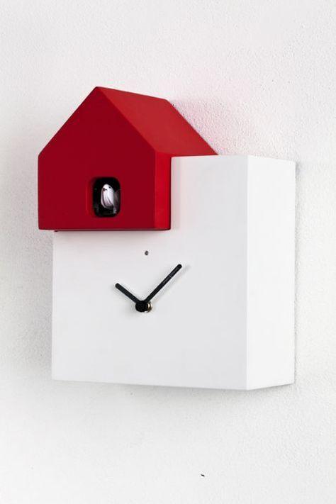 raccolta di sconti scegli l'autorizzazione Più votati Horloge à coucou design Ettore Leaf | Décoration | Orologi a ...