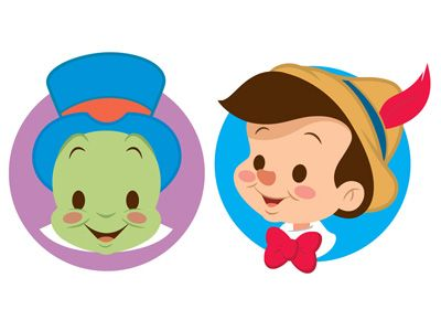 A cute set of icons. Hope to do more using my favorite Disney characters.
