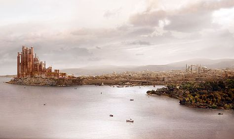 King's Landing, the capital city of Westeros, Game of Thrones