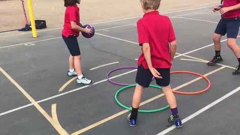 """Brian Nassif on Twitter: """"Triple Hoop Ball! 🏀 Inspired by  @CaseyY_HPE #PhysEd #SDPhysEd… """""""