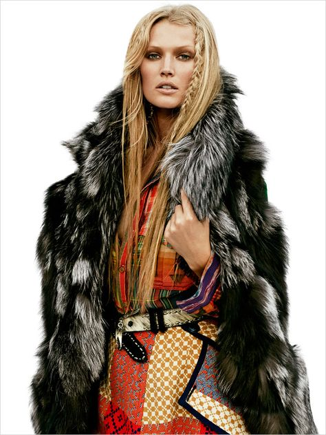 Toni Garrn for Vogue Mexico by James Macari