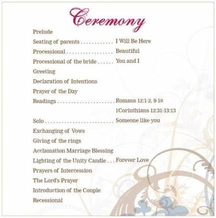 Best Wedding Ceremony Script Book Ideas Ceremony Outline Wedding Ceremony Outline Wedding Ceremony Script
