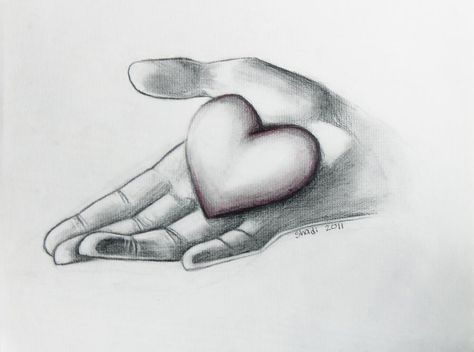 Heart in Hand by CameraShi on DeviantArt