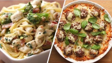 8 Scrumptious Spaghetti Recipes Tasty Youtube Spaghetti