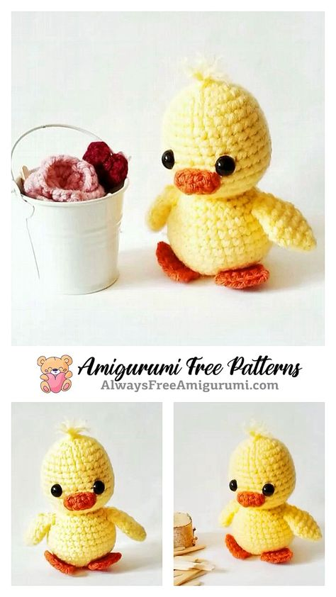 Amigurumi Chick Free Pattern & crochet chick ideas