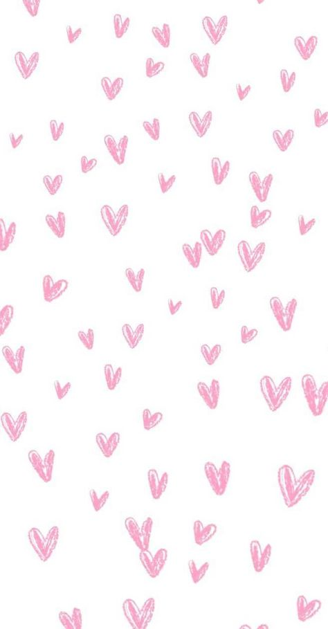Heart watercolor iphone wallpaper